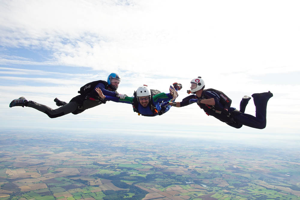 AFF first skydive