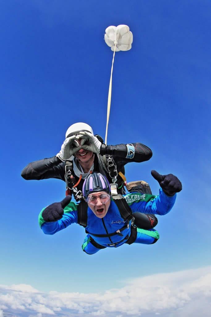 Tandem Skydive in the UK