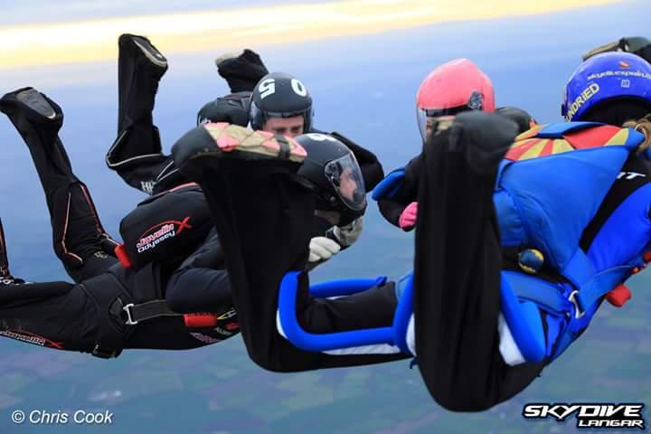 Big Way skydive in the UK