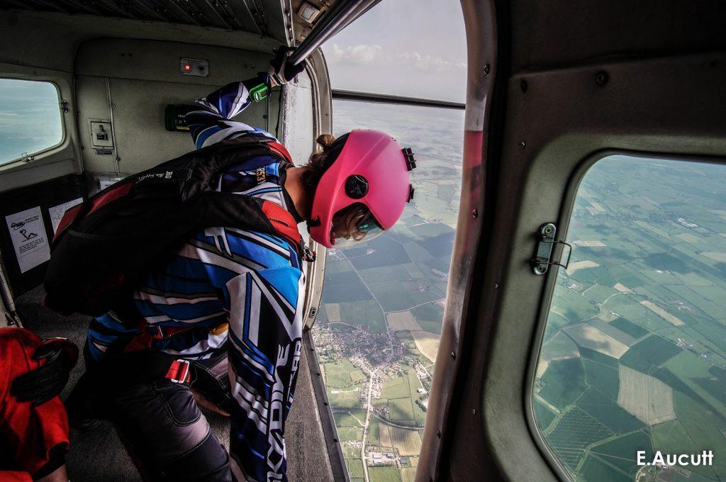 Jumpmaster Spotting Skydivers
