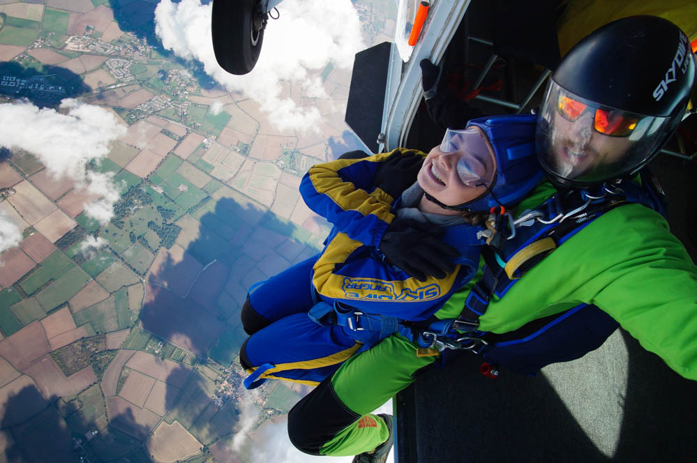 Emily's first Tandem Skydive