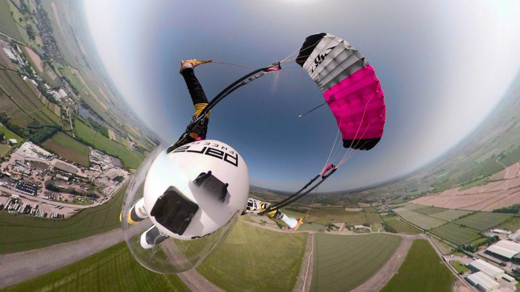 Chris Cook Swooping Selfie