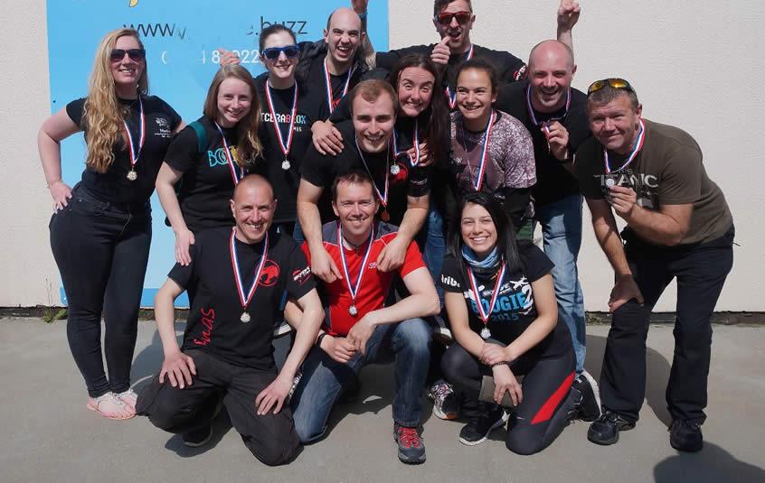 Skydive Langar Teams